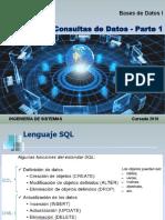 consulta bases de datos