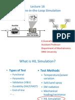 hardware in loop simulation