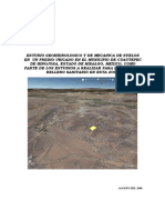 EMS Geohidrologico Para Relleno Sanitario