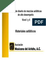 Materiales asfálticos