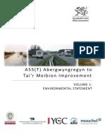 a55 Abergwyngregyn to Tair Meibion Improvements Env Statement