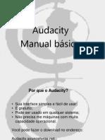 Audacity manual rádio
