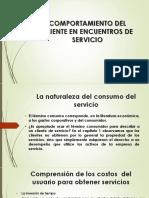 COMPORTAMIENTO DEL CLIENTE EN ENCUENTROS DE SERVICIO. karem carlos.pptx