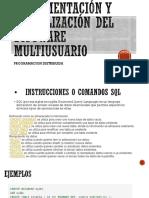 Implementación y Actualización Del Software Multiusuario