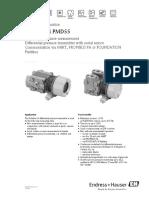 PMD55 manual de diferencial de presion de endres