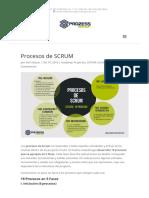 Procesos de Scrum