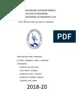 Informe Instalaciones Sanitarias