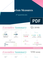 Tourism Measures Q3 2019