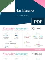 Tourism Measures Q3 2019