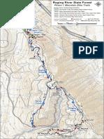 Raging River Mtb Map