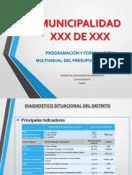 MODELO Exposición de GL Programacion Presupuestal