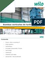 Bomba Vertical de Turbina