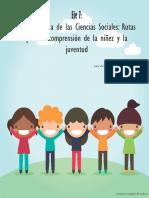 Rutas Para La Comprensión de La Niñez y La Juventud(1)