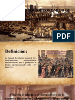 El Impacto Socioeconomico de La Segunda Revolucion Industrial Ppt