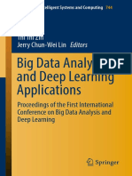 (Advances in Intelligent Systems and Computing 744) Thi Thi Zin, Jerry Chun-Wei Lin - Big Data Analysis and Deep Learning Applications-Springer Singapore (2019)