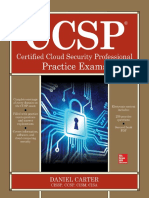 (1st Edition) Daniel Carter - CCSP Certified Cloud Security Professional Practice Exams-McGraw-Hill Education (March 2018)