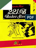 221-B Baker Street. Una Aventura de Sherlock Holmes - Joaquim Mico - 1552 - Cat