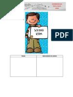 Planeador Preescolar Segundo Periodo
