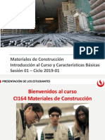 materiales de construccion, introduccion
