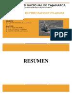 Supervision en Perforacion y Voladura (2)
