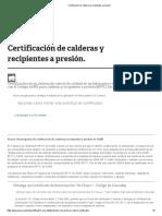 certificacion asme