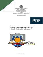 Traducción de algoritmos a lenguaje C
