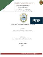ESTUDIO DE CASO PSICOLOGICO N°2 Jakelyn