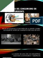 Impactos Del Consumismo en El Medio Ambiente