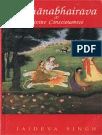 Vijnanabhairava or Divine Consciousness, Dr. Jaideva Singh [BOOK. SOS].pdf