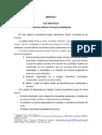 Historia de Los Archivos Resumen
