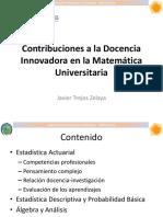 Javier Trejos Experiencias Matematica