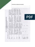 Análisis de La Rubrica de Evaluación