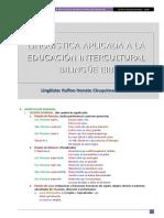 Lingüística Aplicada a La Educación Intercultural Bilingüe Eib Mario