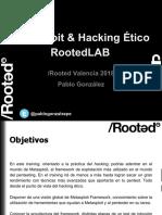 Rootedvlc2018 Rlv1 Metasploit Hacking Etico