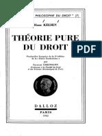 Hans Kelsen-Théorie pure du droit