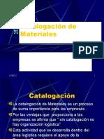 Catalogación de Materiales