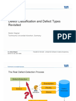 Defect classifications