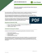 Software Manager Utility Instructions v2 0 ES
