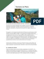Turismo en Perú[1]