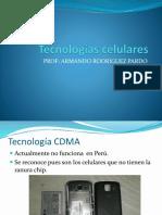 Tecnologías celulares 2021