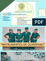 INTRUMENTAL QUIRURGICO