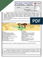 4f- Geografia 3º Bimestre 2019
