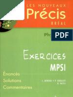 Precis Physique MPSI