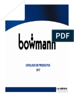 Catalogo Bowman