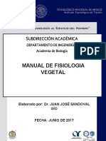 MANUAL DE FISIOLOGÍA VEGETAL