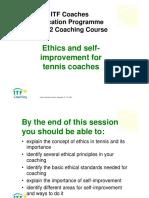 ITF Coaches_Level 2 Ehics