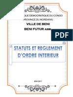 Status Et Reglement d'Ordre Pour Notaire