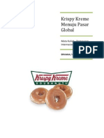 Krispy Kreme Doughnuts Going Global