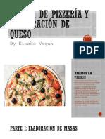 Taller de Pizzería y Elaboración de Queso vegano