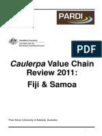 Caulerpa Vc Report 2011 - Final